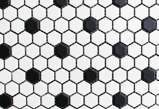 Canadian | Lumber - 1x1 Hexagon Porcelain Mosaic