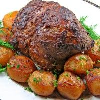 Roast Leg of Lamb with Roasted Vegetables : Halogen Oven Recipes