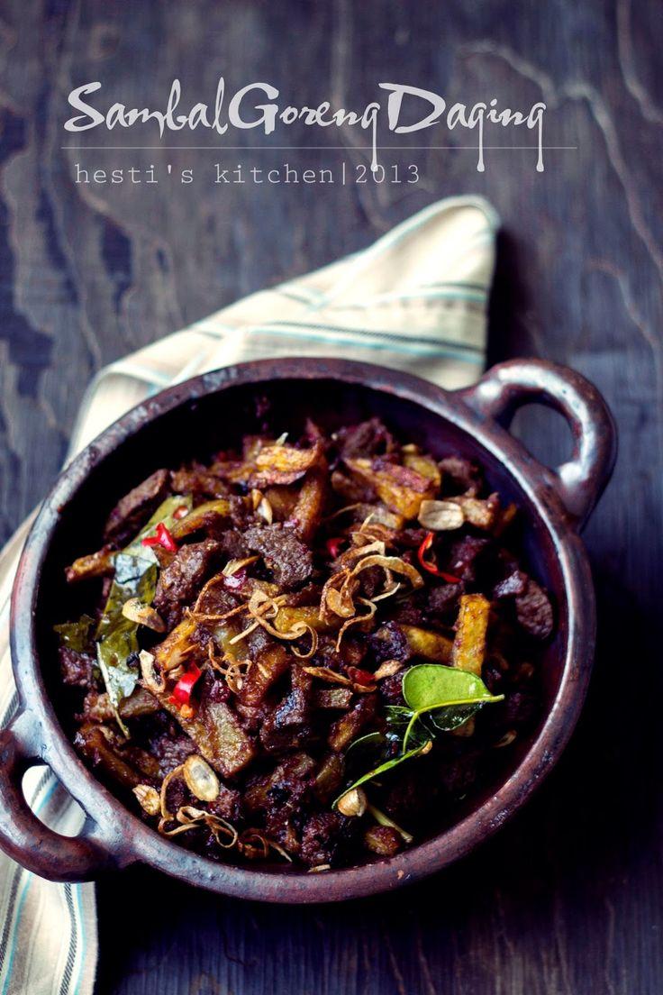 HESTI'S KITCHEN : yummy for your tummy: Sambal Goreng Daging