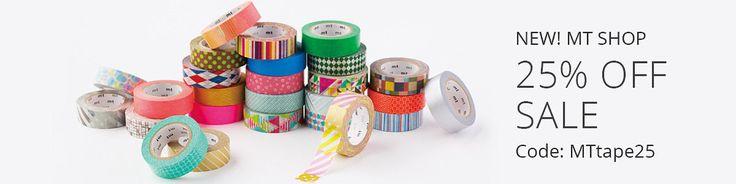 MOPU  MT Washi Tape Japanese Masking Tape by mttape on Etsy