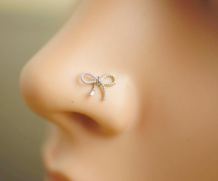 nose ring,nose stud,nose piercing,sterling silver nose ring,unique nose jewelry,cute nose ring,varabow nose ring by cayjewelry on Etsy https://www.etsy.com/listing/229010329/nose-ringnose-studnose-piercingsterling