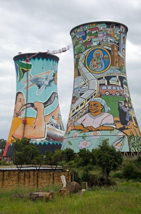 Orlando Towers, symbol of Soweto