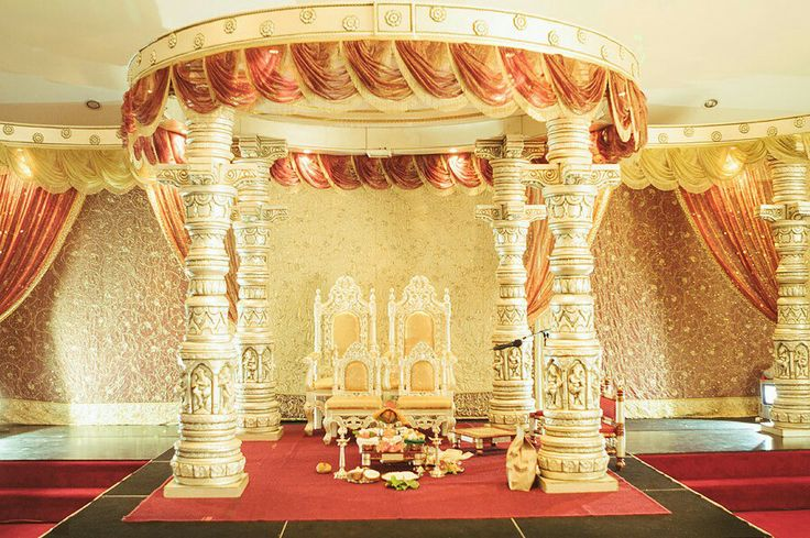 Mandap decor ideas. Indian wedding photography