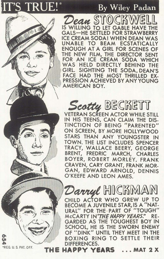 17 best images about scotty beckett 19291968 on