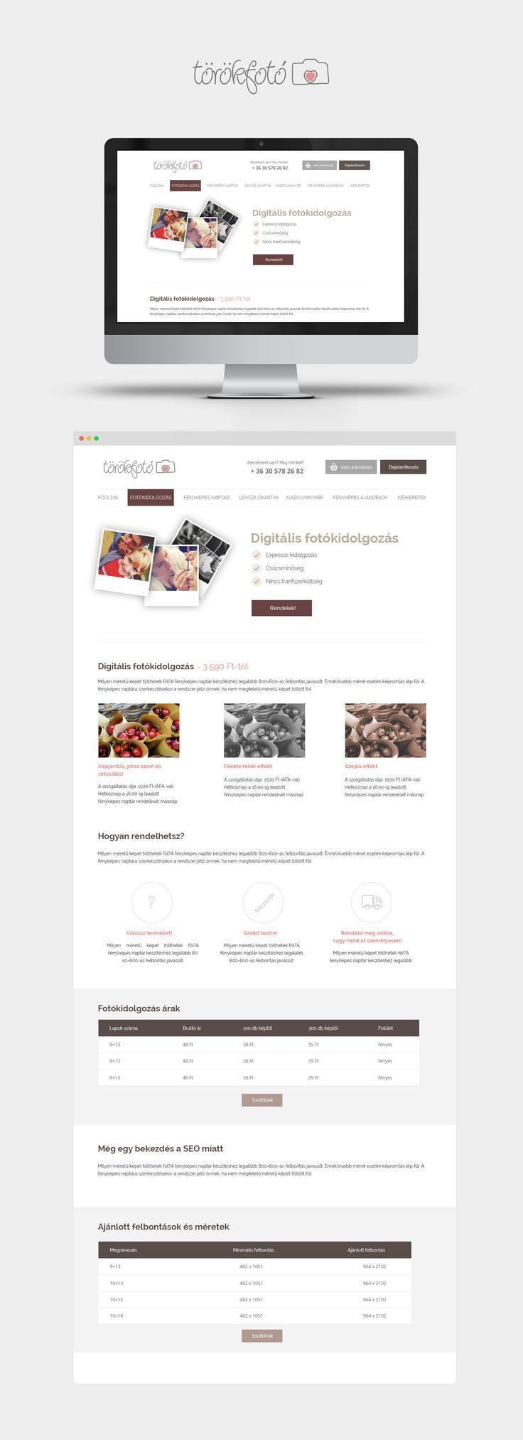 Online photography and gift webshop design. #webshop #webshopdesign#webdesgin