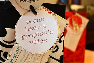 This is General Conference Visiting Teaching gifts! GREAT idea!