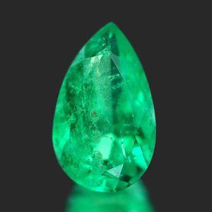 0.51 Ct Natural Columbian Emerald