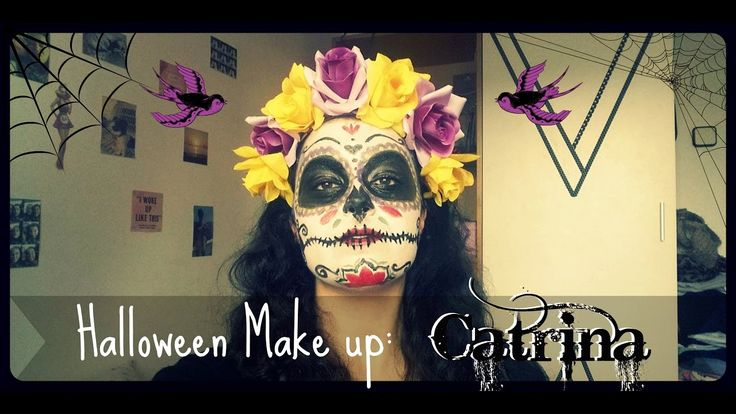Halloween Makeup: Catrina ♡ Sugar Skull | Up In The Heels