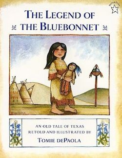 Learning about the US through Children's Books. One book for every state, plus activities! This one is Texas: Legend Of The Bluebonnet. Links at the end of the article.