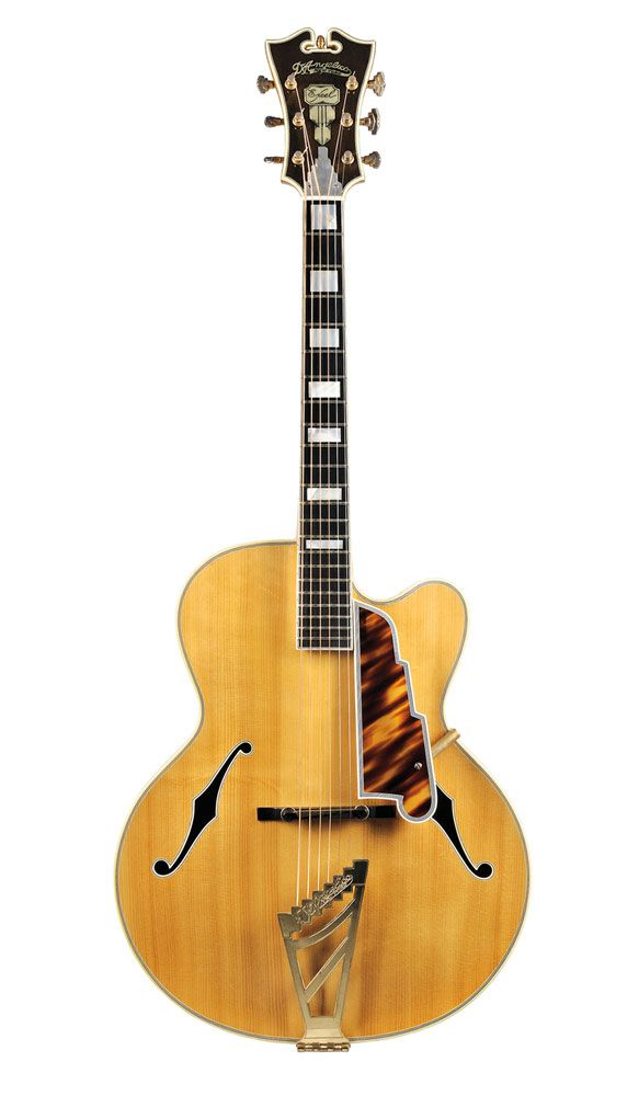 D'Angelico Excel, 1962 American Guitar, John D'Angelico, New York, 1962 (Lot 23, Estimate $30,000-$40,000) (via Skinner)