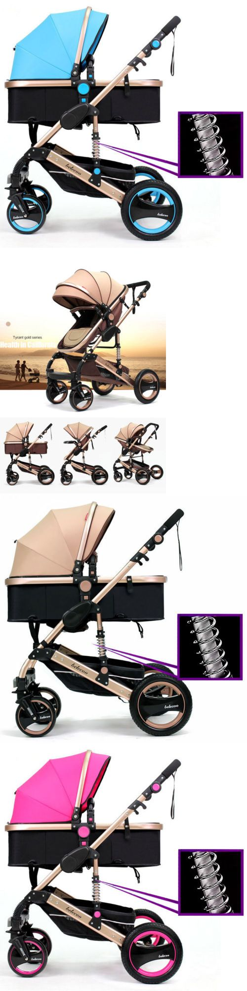 Strollers 66700: Belecoo Baby Carriage Foldable Travel Stroller Buggy Pushchairs Pram Outdoor Fs -> BUY IT NOW ONLY: $189.99 on eBay!