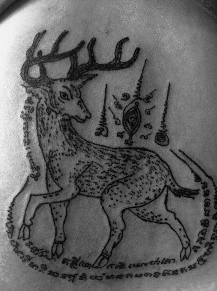 63 best sak yant thai tattoo images on pinterest for Sak yant tattoo rules