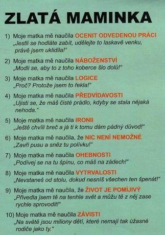 www.sk8isgr8floorballisgood.estranky.cz - Fotoalbum - Všicí goody lidičky=) - Trochu Srandy :D - Zlatá Maminka .jpg