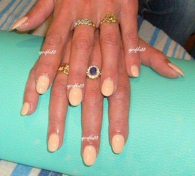 paznokcie hybrydowe migdałki miętowe - Szukaj w Google