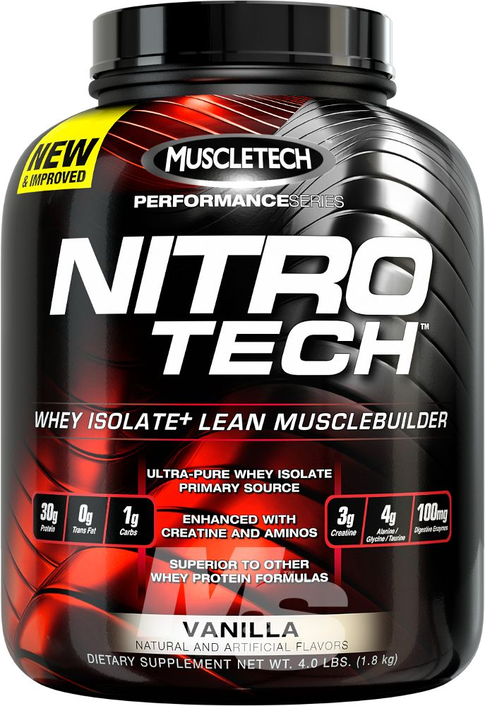Nitro-Tech by MuscleTech: Lowest Prices at Muscle & Strength