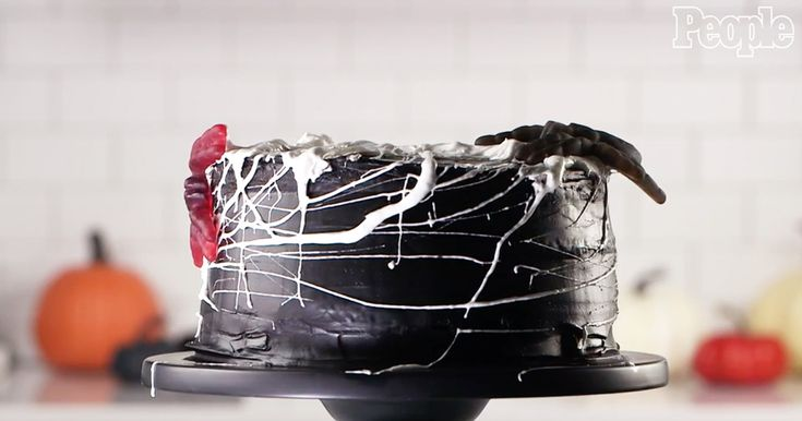 How to Turn Marshmallows Into Cobwebs for Your Halloween Treats