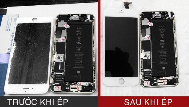 iPhone cũ ép màn hình thành iPhone mới?