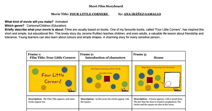 """Storyboard about the lovely story """"Four Little Corners"""": http://bit.ly/1GzOK4s . (Template by http://ShellyTerrell.com )"""