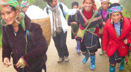 Sapa O'Chau - Hanoi. Social enterprise, volunteer school, trekking and home stay.
