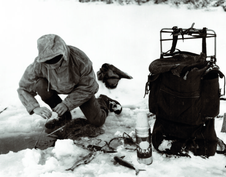 Ice fishing & Airam thermos