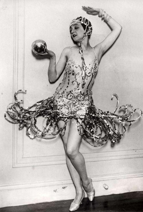 Dancer Maria Ley in Vienna, Austria, 1926