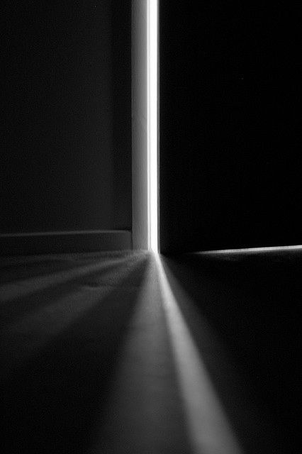 Even a sliver of light can illuminate a room and push the darkness back.