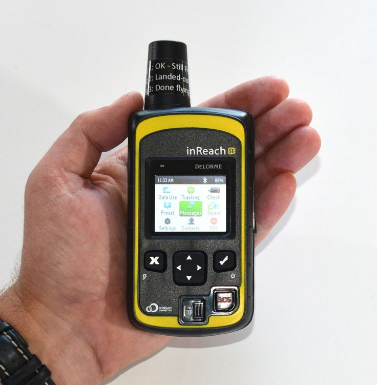 The Poor Man's Satellite Phone: Delorme Inreach SE @ 190 grams: Ultra Light Hiking, Ultralight Backpacking.