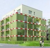 World's First Algae-Powered Building by Splitterwerk Architects Opens This Month in Germany    Read more: World's First Algae-Powered Building by Splitterwerk Architects Opens This Month in Germany | Inhabitat - Sustainable Design Innovation, Eco Architecture, Green Building