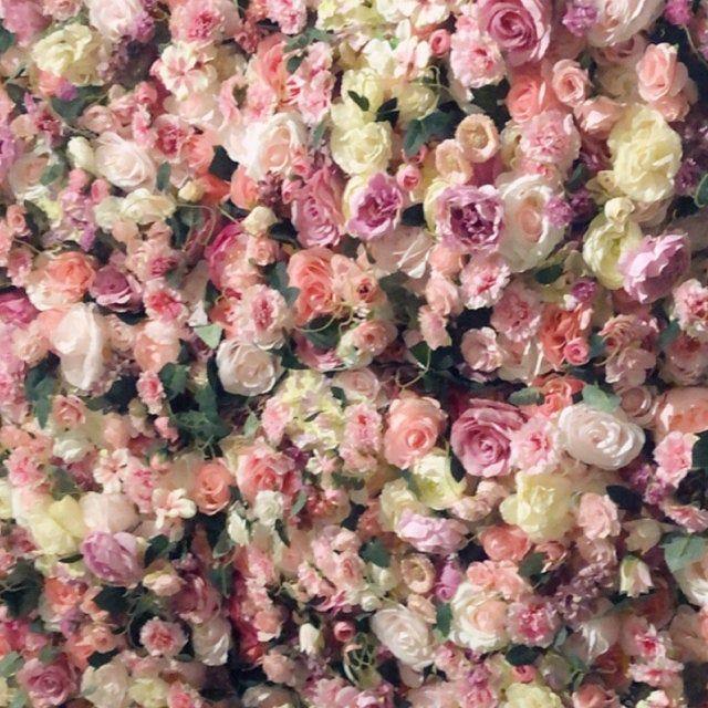 Wedding Flower Wall Panel Backdrop For Wedding Arrangement Etsy Flower Wall Wedding Flower Wall Backdrop Flower Wall