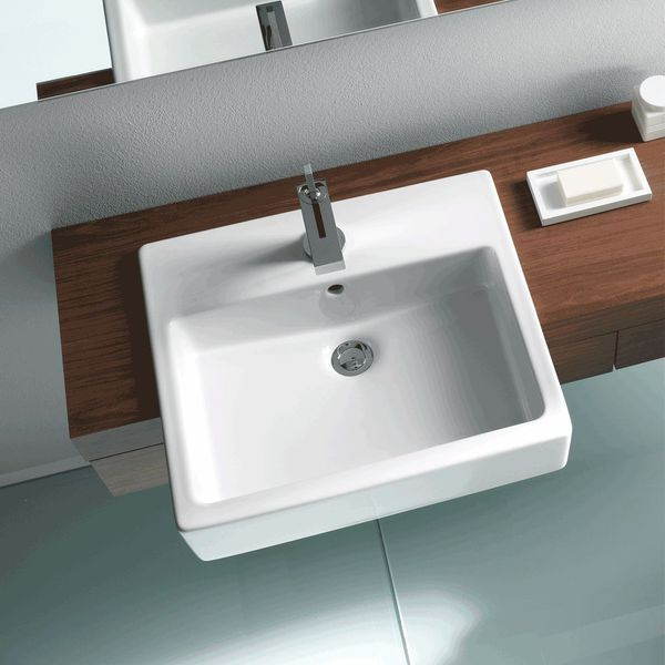Duravit Vero Semi-Inset Basin | Washbasins | CP Hart