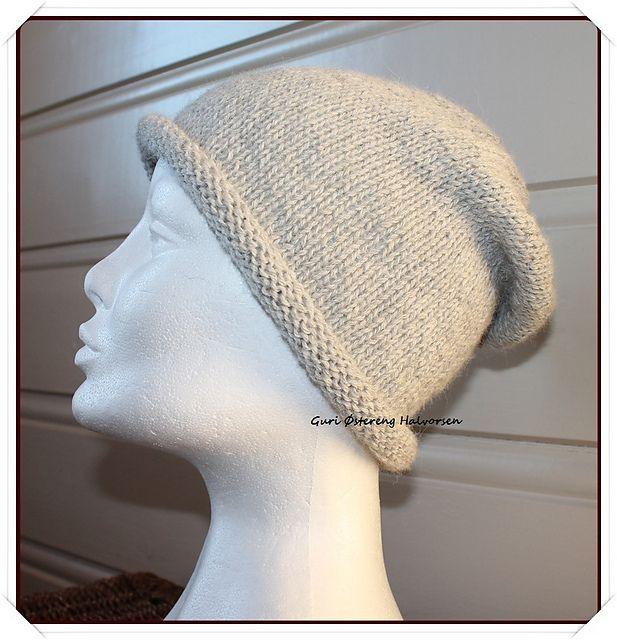 Ravelry: Super-easy alpaca-hat pattern by Guri Østereng Halvorsen