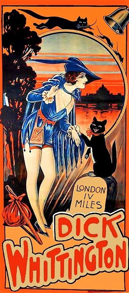 Dick Whittington Woman w Cat Featured 1930