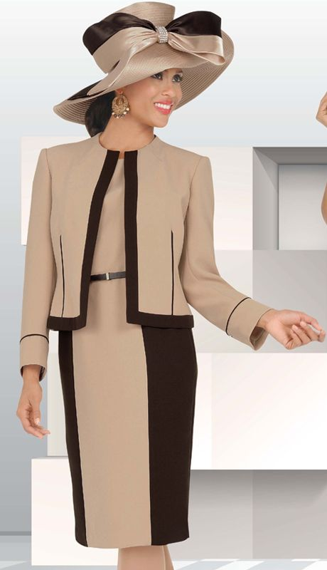fancy church suits for women | CH21505-IH (Chancelle Fall And Holiday Designer Church Suits 2013)