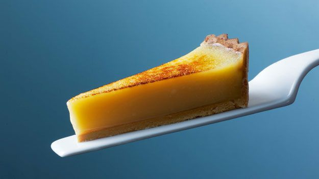 Heston Blumenthal's lemon tart - definitely going to try this recipe... Let's see if it's 3 michelin star quality!