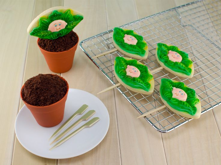 cabbage patch kids cookie cupcake
