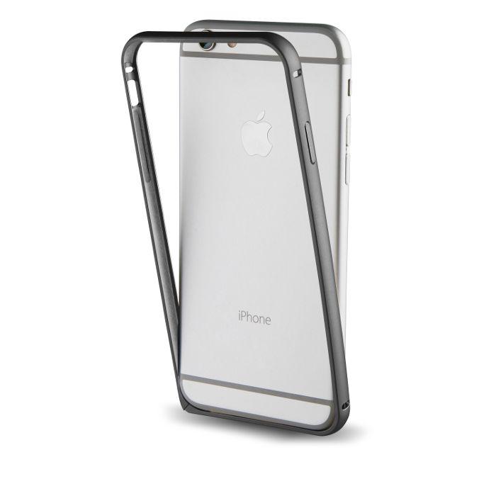 Apercu Image 1 Muvit Bumper avec protection arrière pour Iphone 7 Plus Noir