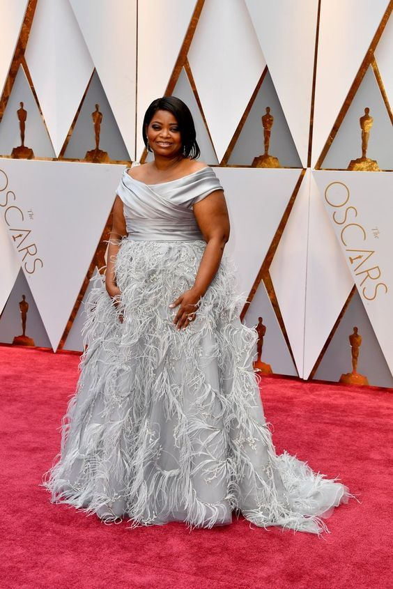 Octavia Spencer Oscar 2017 Red Carpet