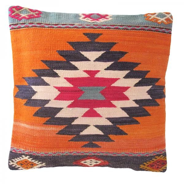 Looking for a unique pop of colour for your home? This one-of-a-kind kilim cushion is the perfect addition to any room. Browse our selection at TheKilim.Co