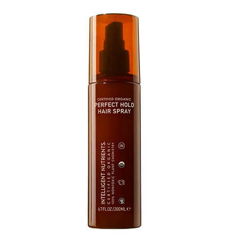 Intelligent Nutrients Stocking Stuffers: Certified Organic Perfect Hold Hair Spray $29