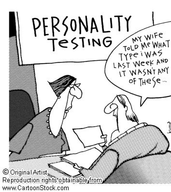 Personality testingPersonalized Stuff, Test Funny, Personalized Test, Funny Pics, Career, Funny Cartoons, Counseling Humor, Personalized Types, Test Cartoons