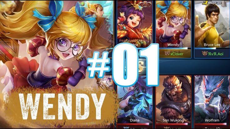 Heroes Evolved New Hero : WENDY | GAMEPLAY #1