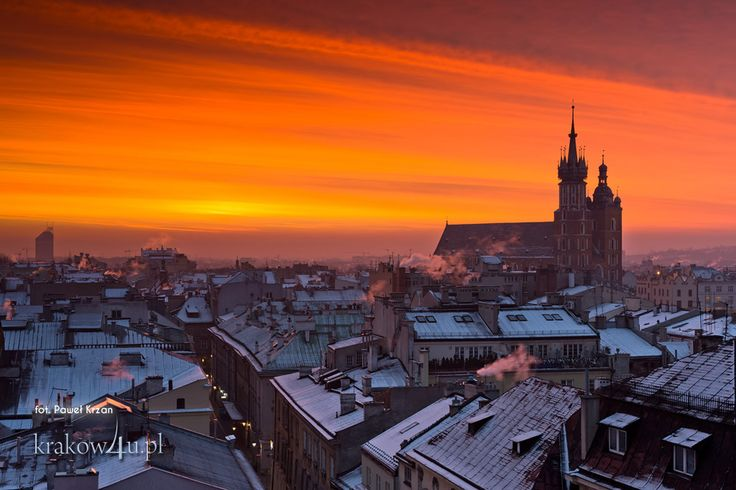 Rooftops in Cracow