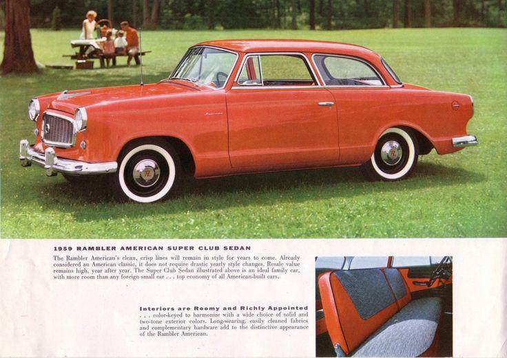 81 best 1959 AMC American images on Pinterest American motors - craigslist kenosha