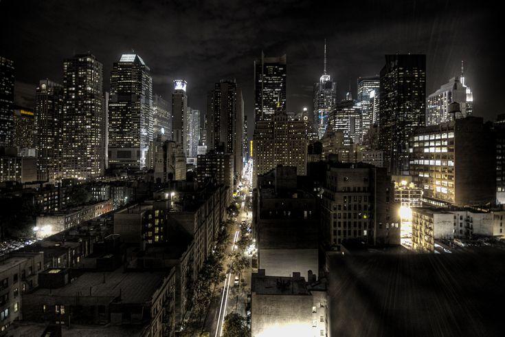 File:New York City at night HDR edit1.jpg