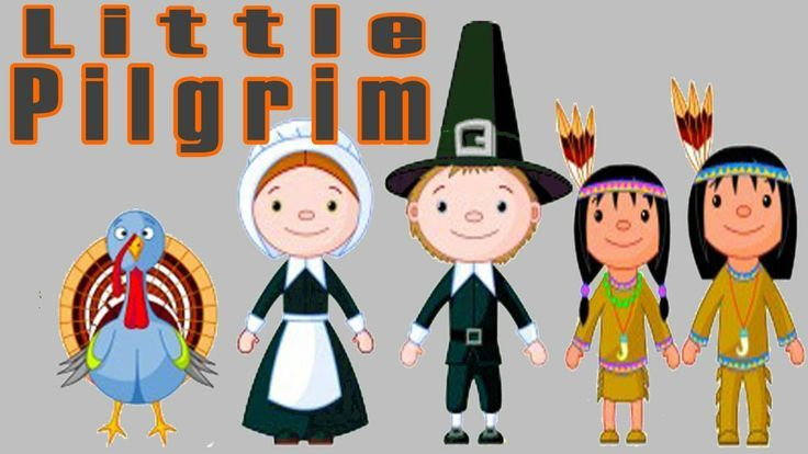 Thanksgiving Songs for Children - Little Pilgrim - Kids Song by The Learning Station pinned with Pinvolve - pinvolve.co