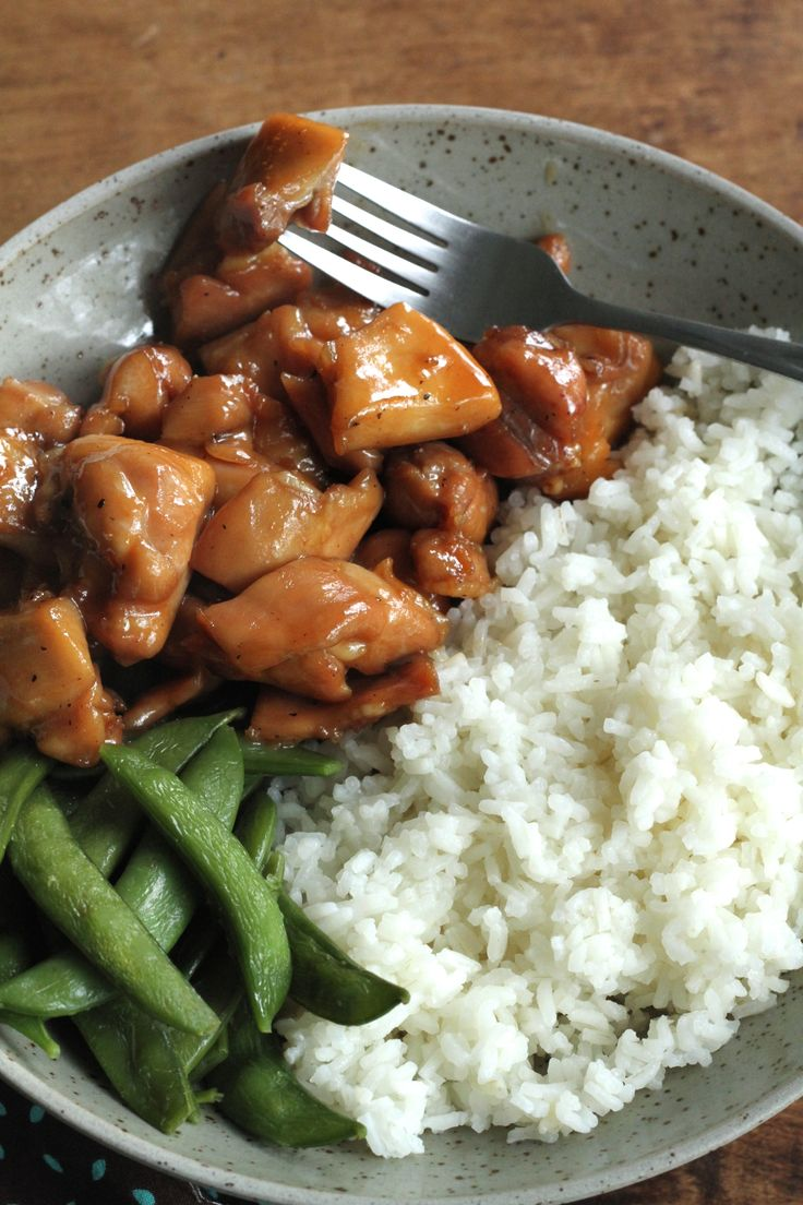 Weeknight Chicken Teriyaki-An easy, gluten-free dinner that is quick and full of flavor! | Brittany's Pantry