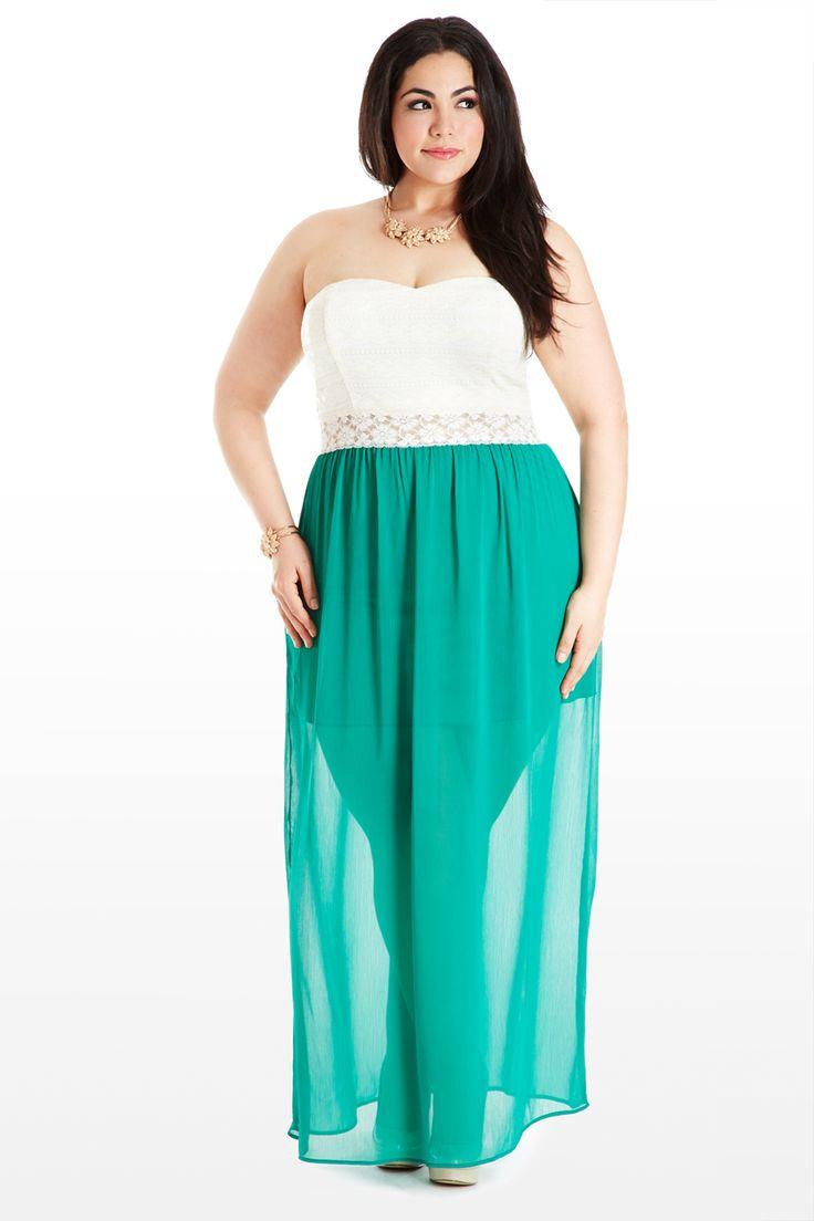 Superior Plus Size Maxi Dresses 2014
