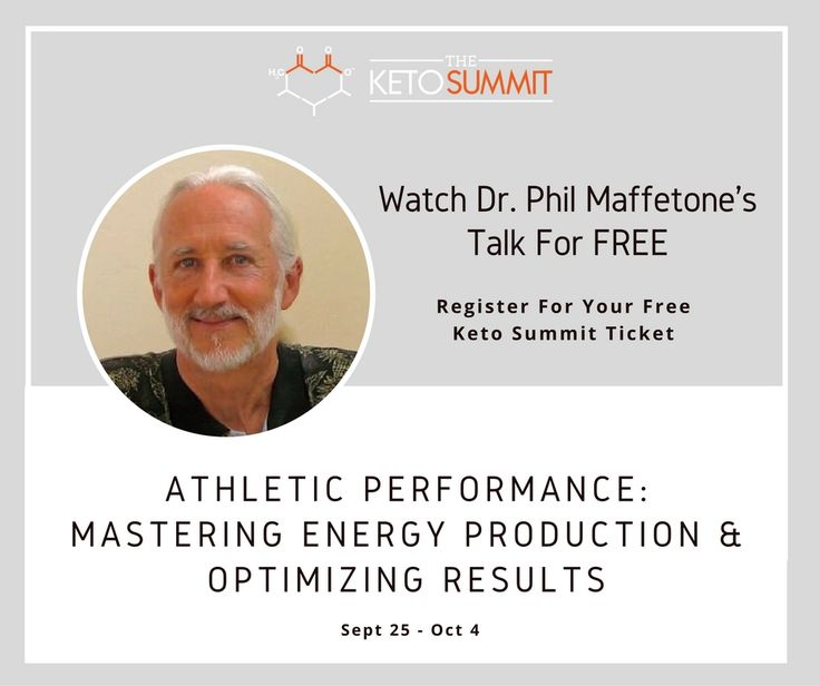 Dr Phil is a legend in athletic circles. See how #ketodiet can improve athletic performance plus potentially help reverse chronic disease http://www.triathlon-hacks.com/ketogenic-diet-what-benefit-is-there-for-athletes/ Grab your FREE tickets today to this online event