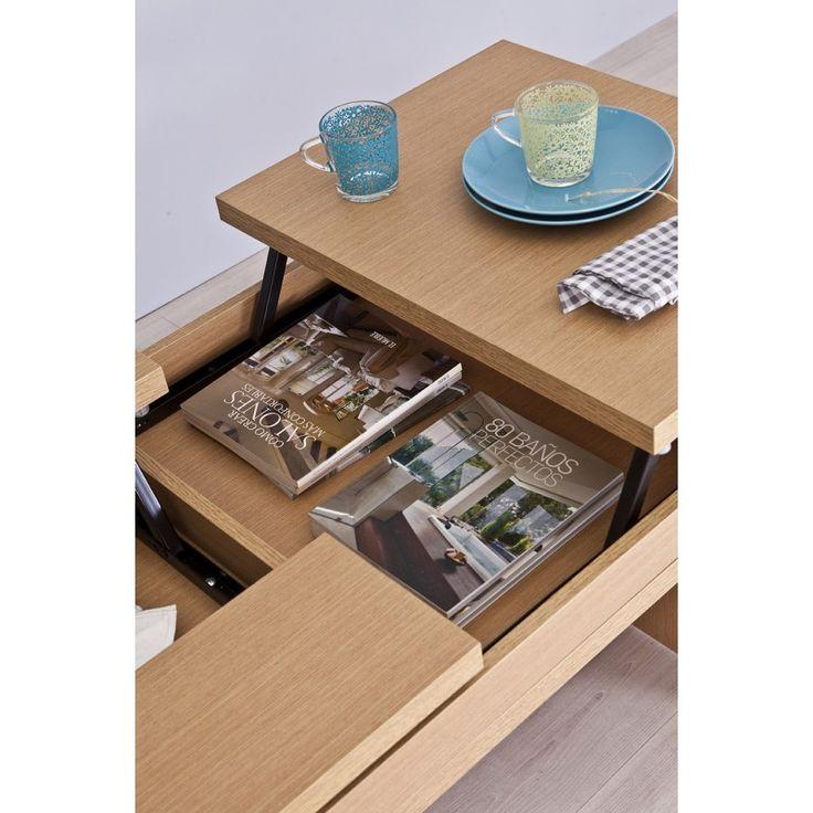 M s de 1000 ideas sobre mesa elevable en pinterest hacer - Revisteros conforama ...