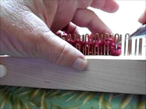 Ruth's Invisible Increase purl version - YouTube